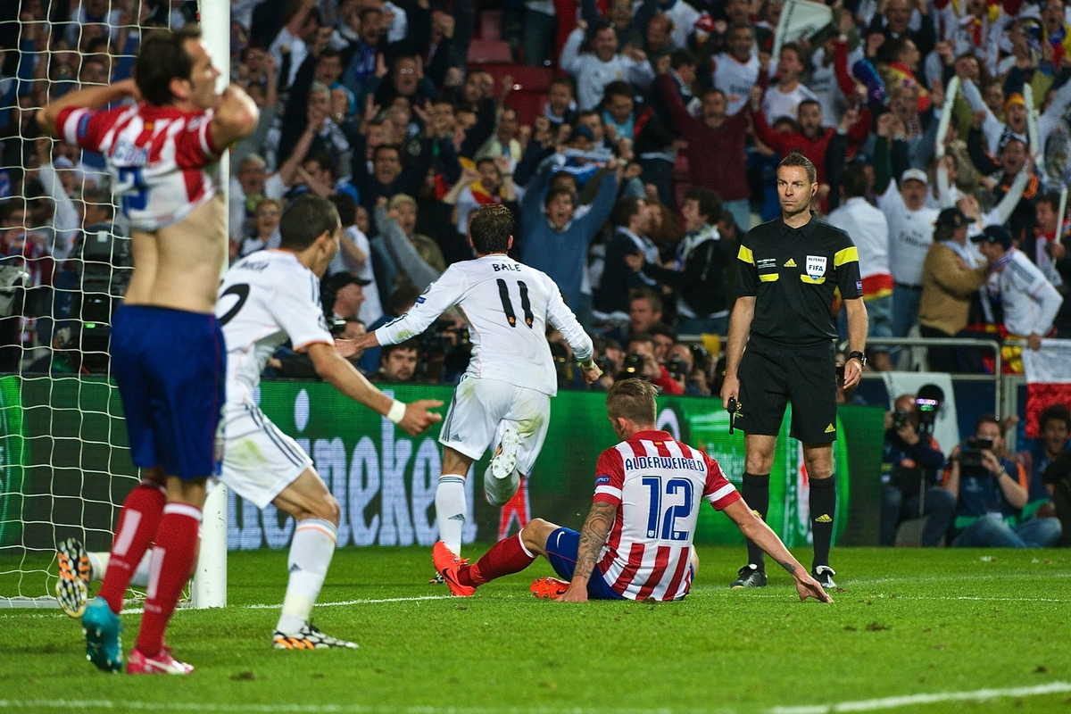 Bale Madrid Atletico Gol Focus