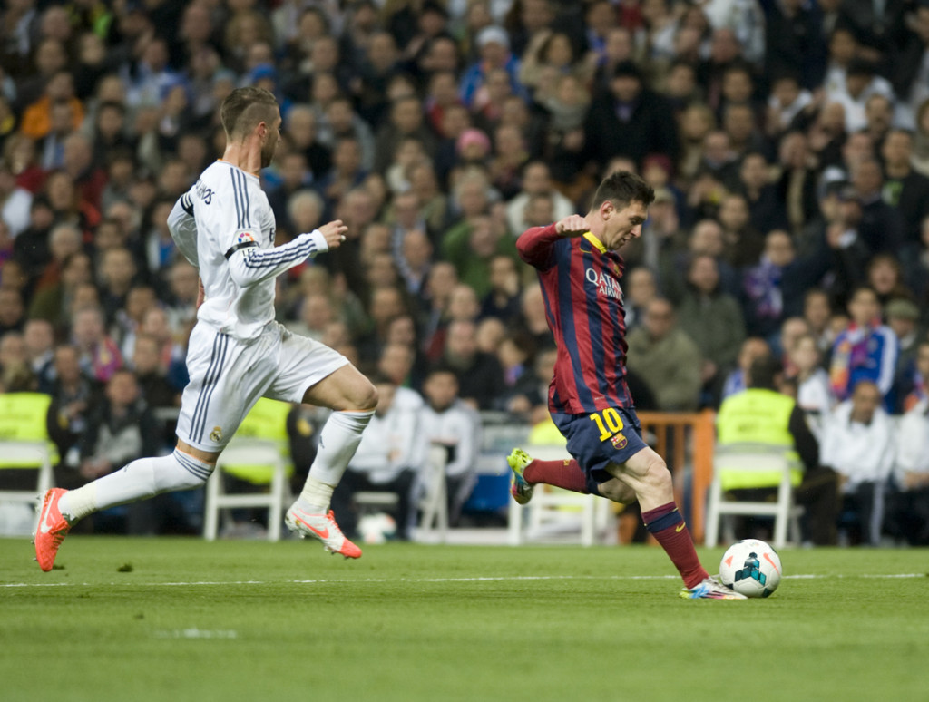 Messi Madrid Barcelona Ramos Focus