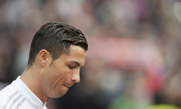 Cristiano Ronaldo of Real Madrid during the La Liga match at the Estadio Santiago Bernabeu, Madrid Picture by Marcos Calvo Mesa/Focus Images Ltd +34 654142934 17/01/2016