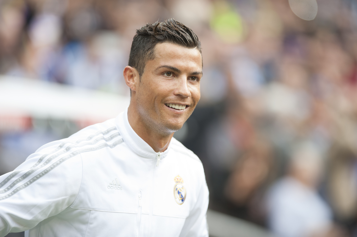 Cristiano Ronaldo of Real Madrid during the La Liga match at the Estadio Santiago Bernabeu, Madrid Picture by Marcos Calvo Mesa/Focus Images Ltd +34 654142934 31/10/2015