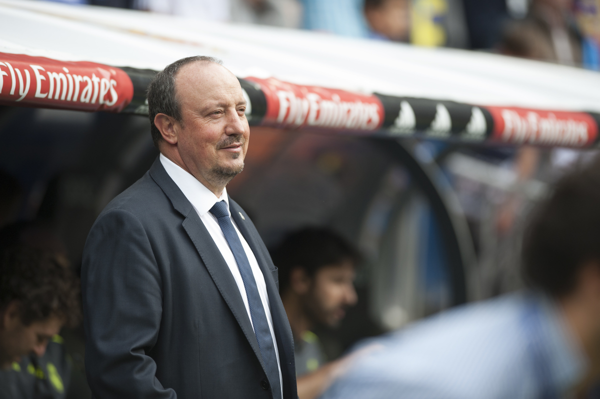 Rafa Benitez coach of Real Madrid during the La Liga match at the Estadio Santiago Bernabeu, Madrid Picture by Marcos Calvo Mesa/Focus Images Ltd +34 654142934 31/10/2015