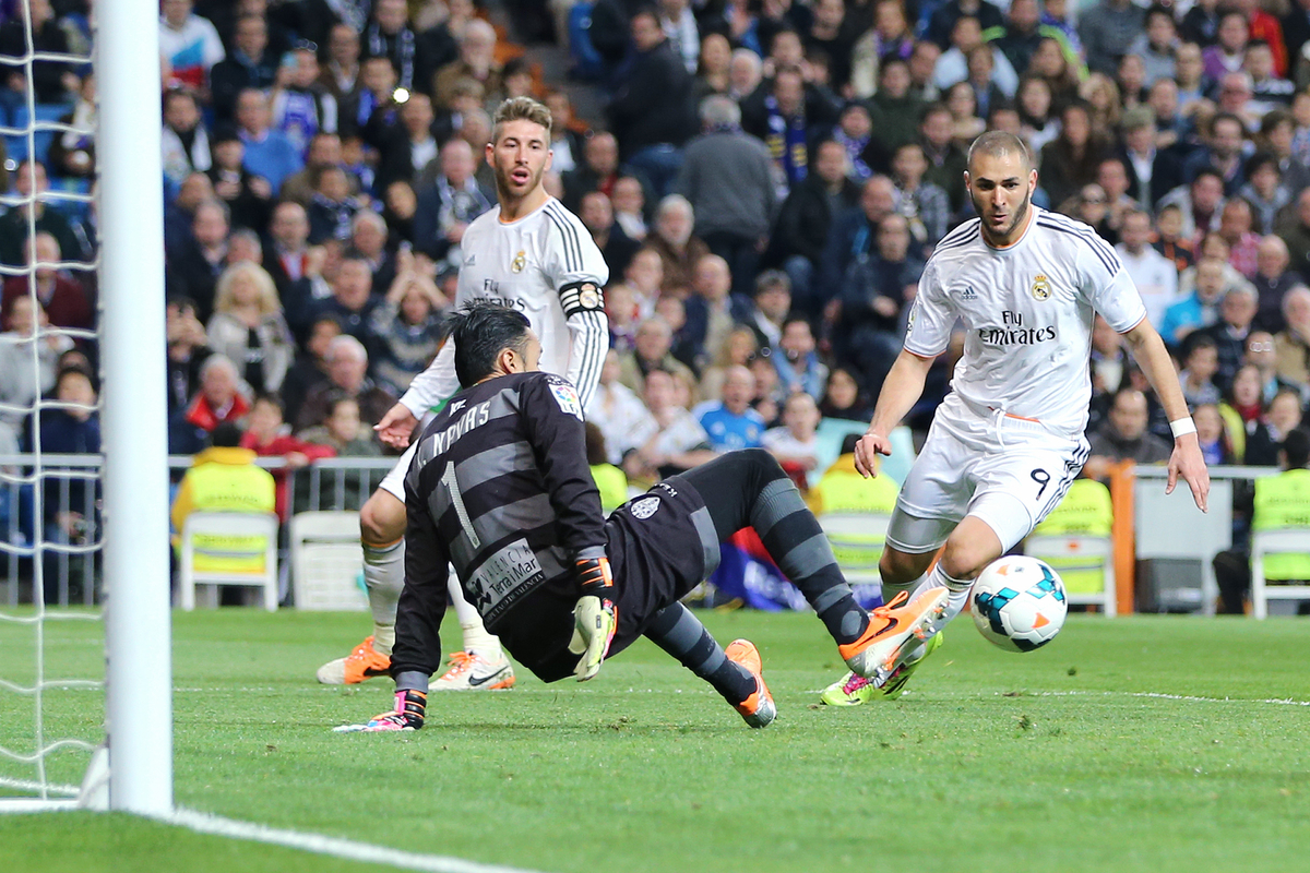 Keylor Navas Focus Levante Real Madrid