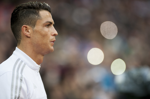 Cristiano Ronaldo of Real Madrid during the La Liga match at the Estadio Santiago Bernabeu, Madrid Picture by Marcos Calvo Mesa/Focus Images Ltd +34 654142934 20/12/2015