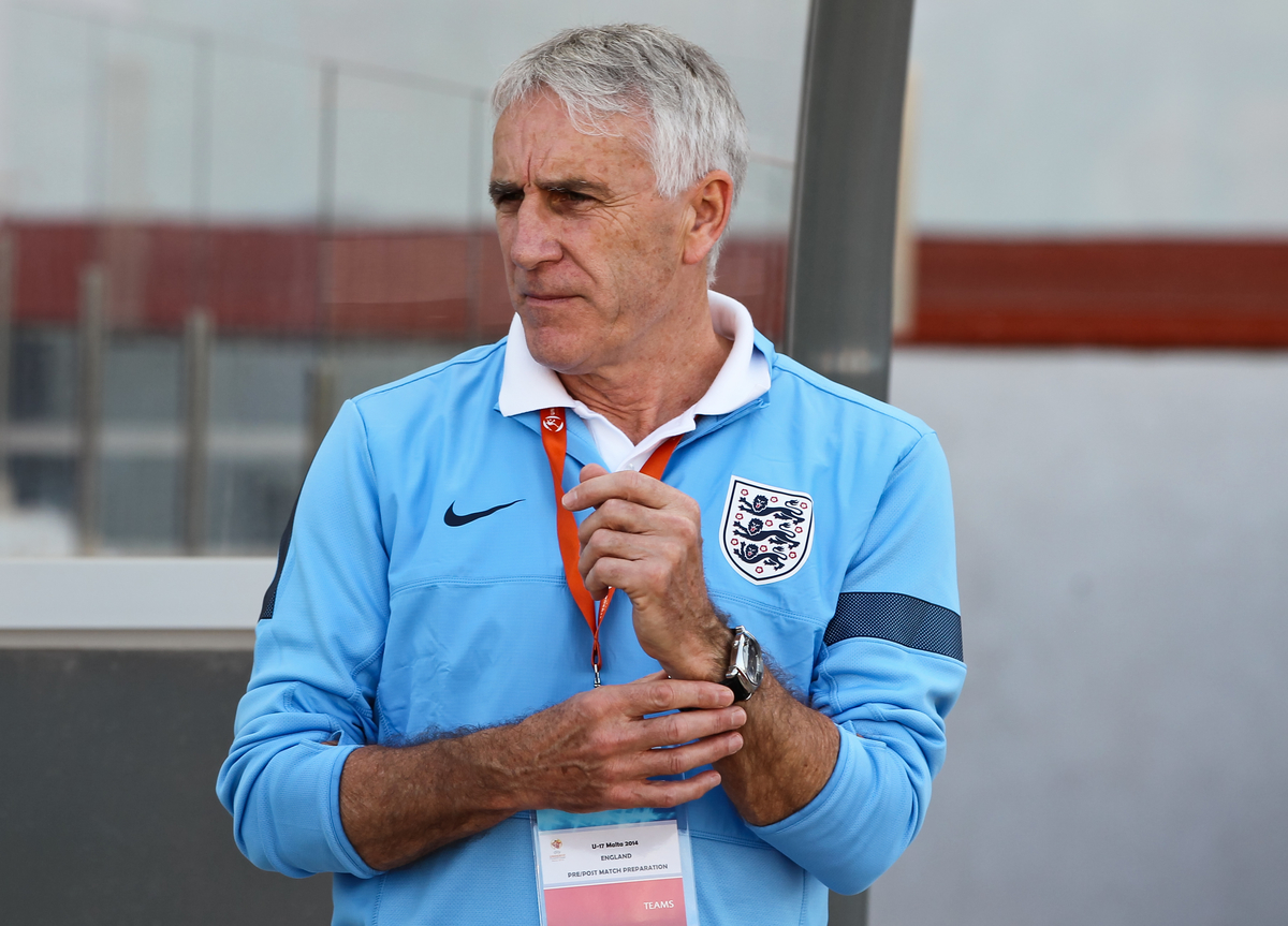 England U17 manager John Peacock before the 2014 UEFA European Under-17 match at Ta' Qali National Stadium, Attard Picture by Tom Smith/Focus Images Ltd 07545141164 09/05/2014