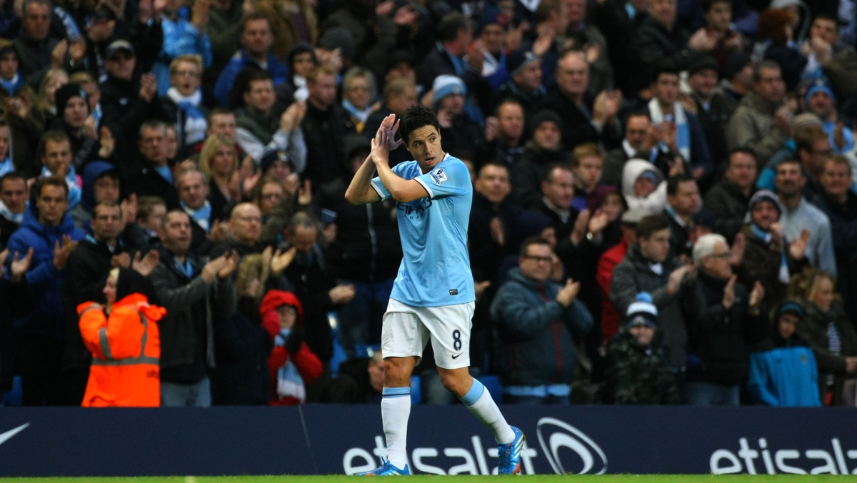 Manchester City Focus Nasri