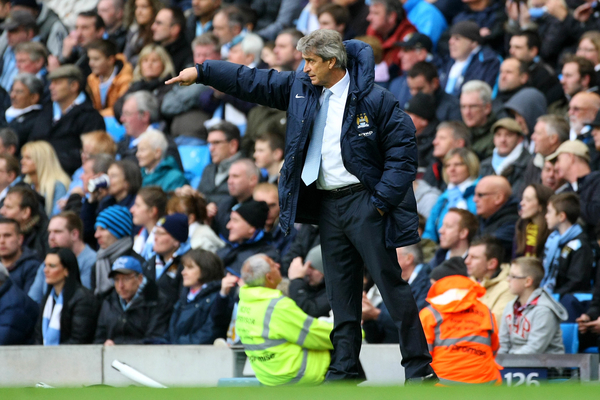 Manchester City v Norwich CityBarclays Premier League