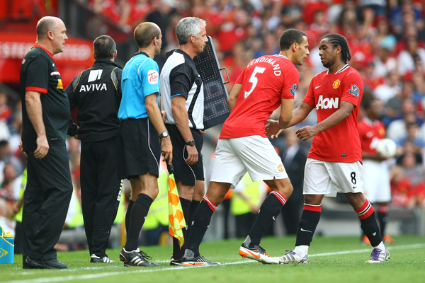 Anderson Manchester United Focus