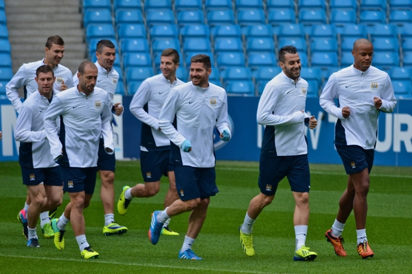 Entrenamiento Manchester City. (Focus Images Ltd)