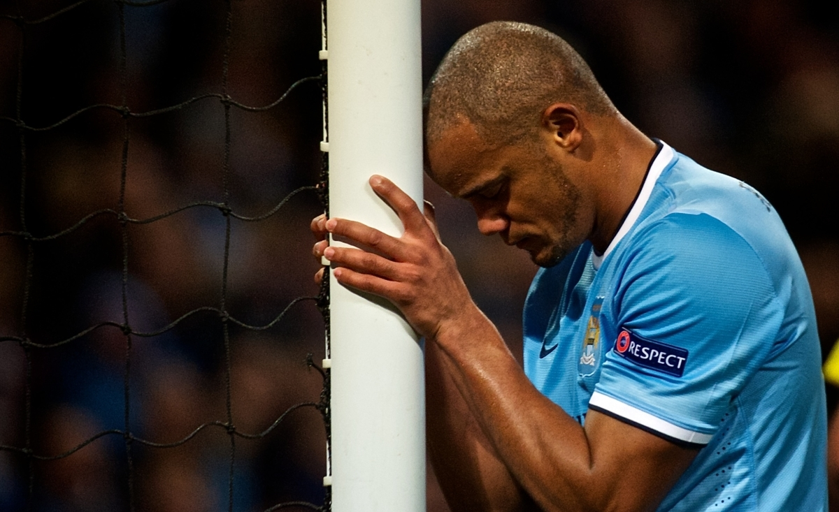 Kompany Focus Manchester City