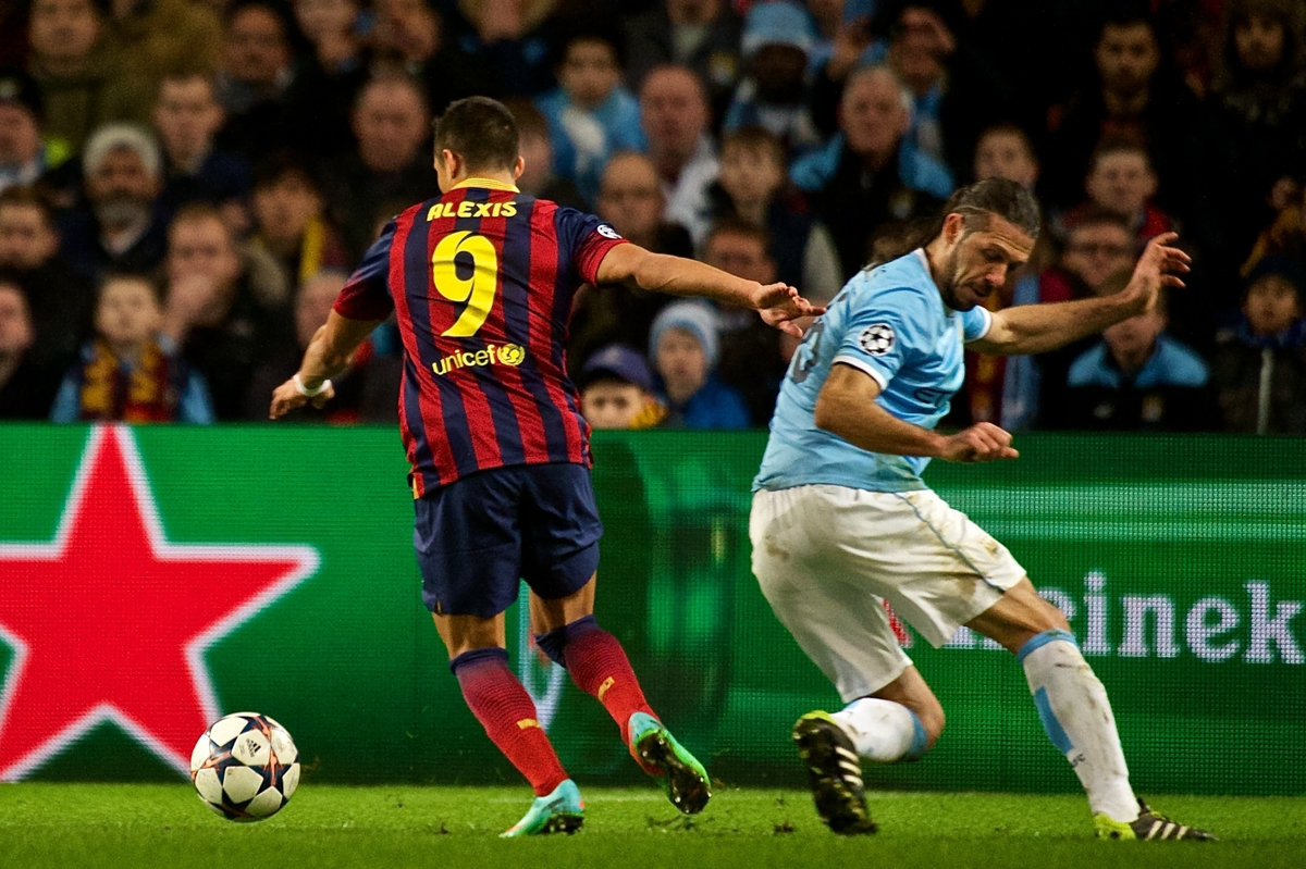 Manchester City v FC Barcelona UEFA Champions League