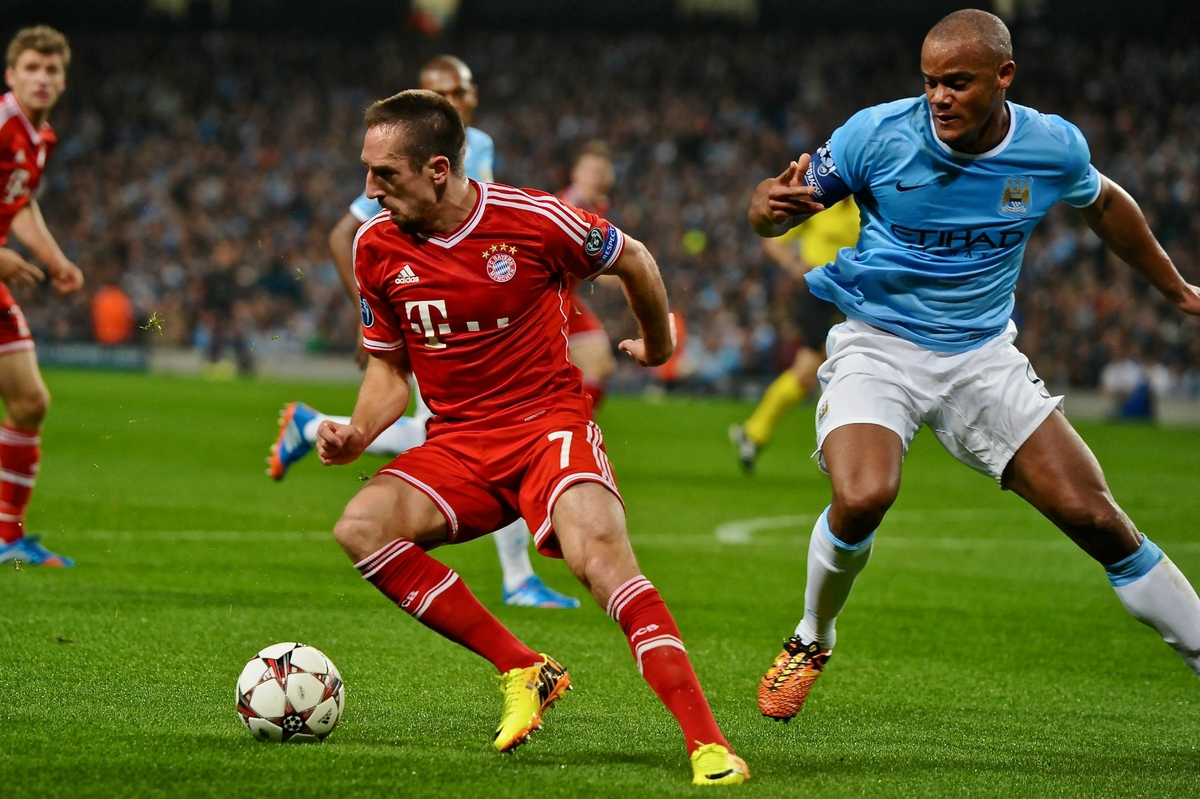 Manchester City v Bayern Munich UEFA Champions League