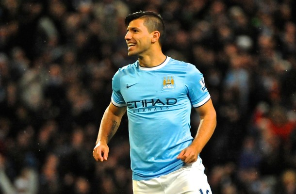 Manchester City Agüero Focus