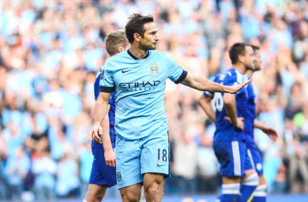 Manchester City Lampard Focus