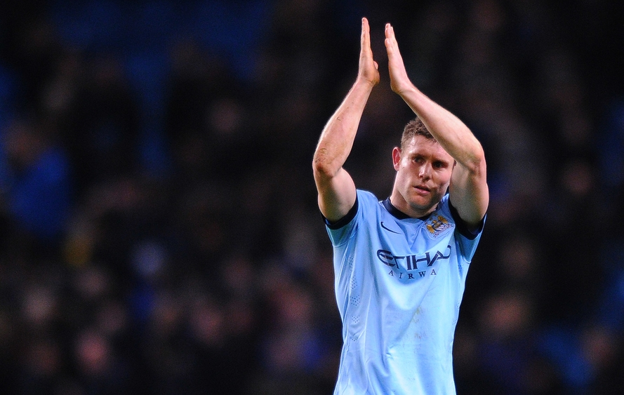 Milner Manchester City Focus