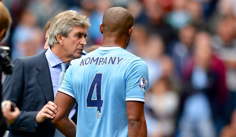 Kompany Manchester City Focus