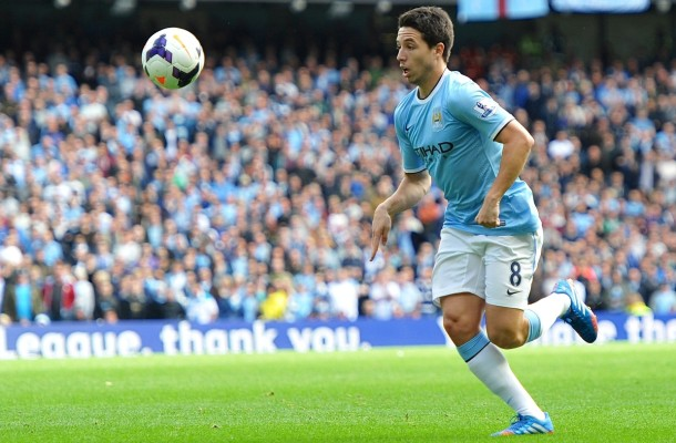 Manchester City Nasri Focus
