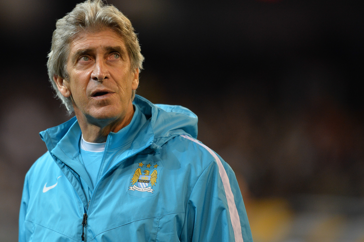 Manuel Pellegrini coach of Manchester City looks on during the International Champions Cup match at Melbourne Cricket Ground, Melbourne Picture by Frank Khamees/Focus Images Ltd +61 431 119 134 24/07/2015