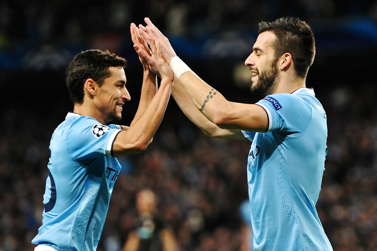 Manchester City Navas Negredo Focus
