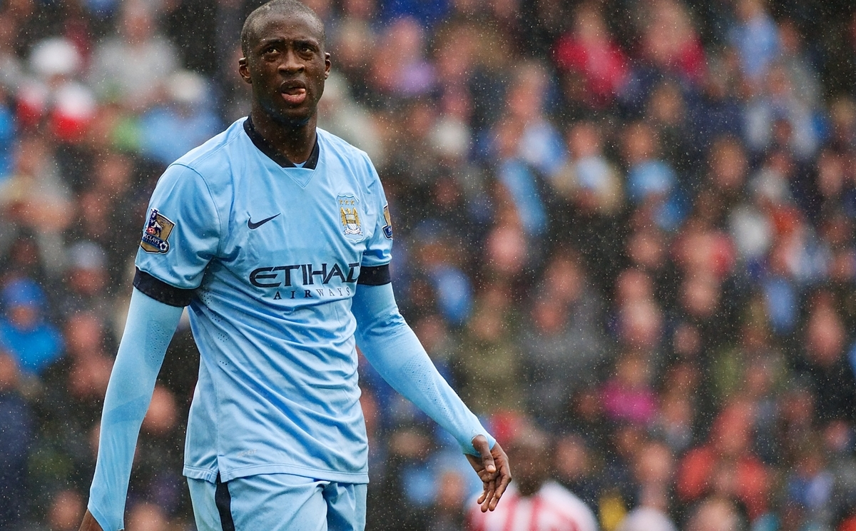 Yaya Touré Manchester City Focus
