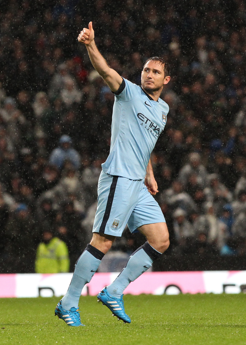 Lampard Focus Manchester City