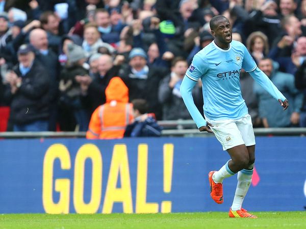 Yaya Touré-Manchester City-Focus