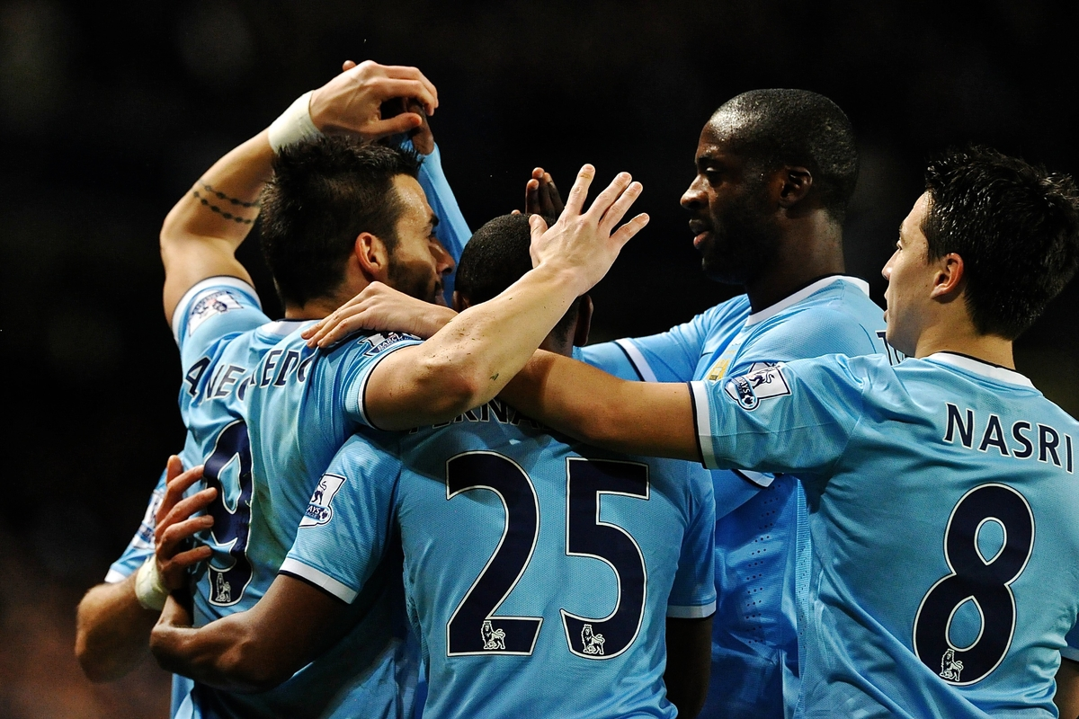 Manchester City v Swansea CityBarclays Premier League