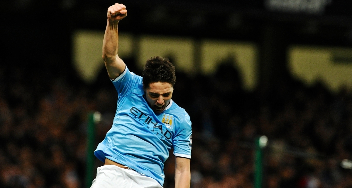 Nasri Manchester City Focus