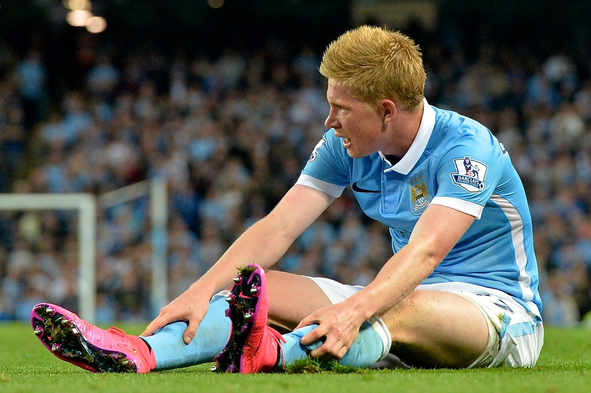 Kevin De Bruyne of Manchester City during the Barclays Premier League match at the Etihad Stadium, Manchester Picture by Ian Wadkins/Focus Images Ltd +44 7877 568959 19/09/2015