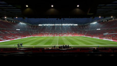 A general view of the stadium before the Barclays Premier League match at Old Trafford, Manchester Picture by Russell Hart/Focus Images Ltd 07791 688 420 11/02/2015