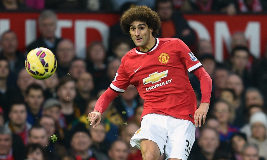 Fellaini Manchester United Focus