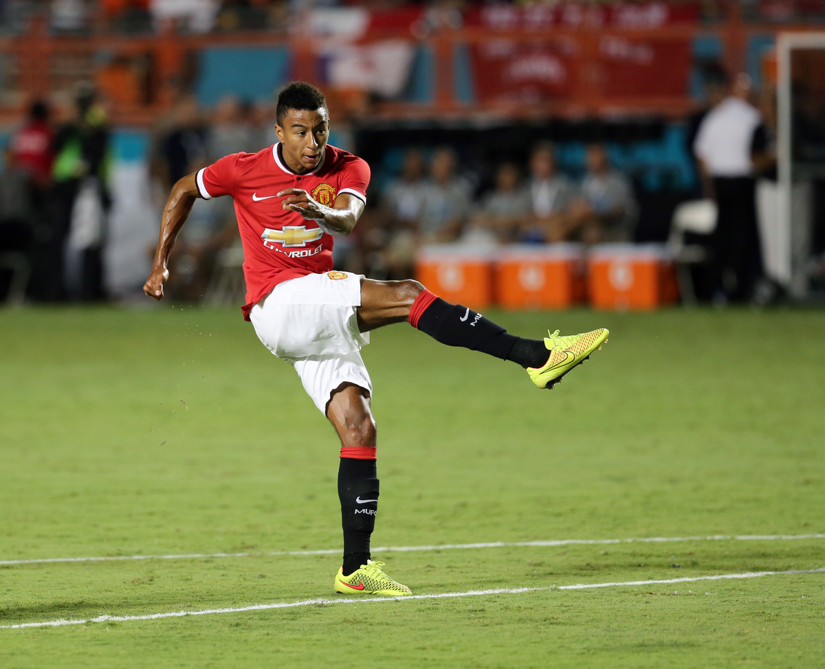 Jesse Lingard Manchester United Focus
