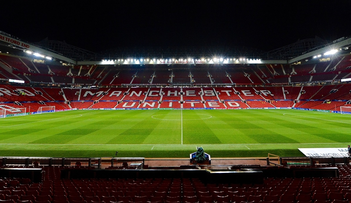 Picture by Ian Wadkins/Focus Images Ltd +44 7877 568959 10/12/2013 General view of the stadium ahead of the UEFA Champions League match at Old Trafford, Manchester.