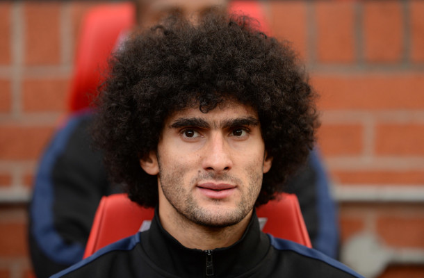 Manchester United Fellaini Focus