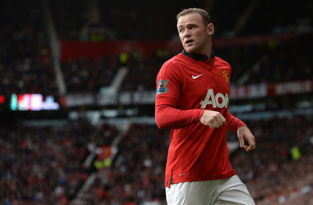 Rooney Manchester United Focus