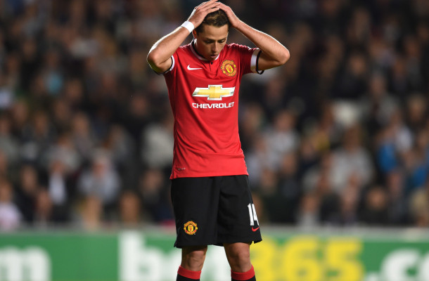 Chicharito Manchester United Focus