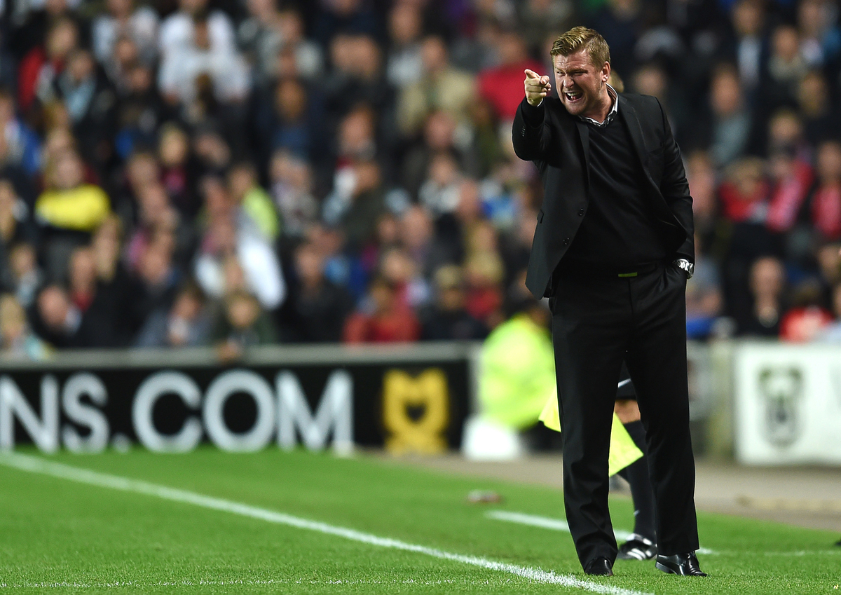 Karl Robinson MK Dons Manchester United Capital One Cup Focus