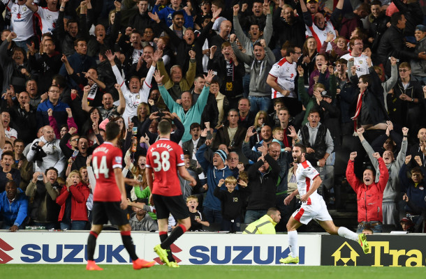 Grigg Milton Keynes Dons Manchester United Capital One Cup Focus