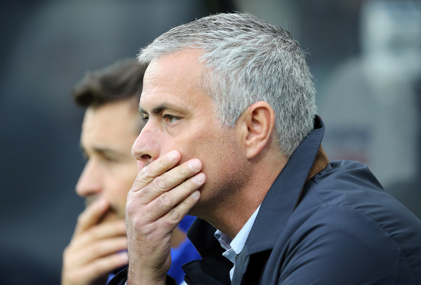 Chelsea manager Jose Mourinho prior to the Barclays Premier League match at St. James's Park, Newcastle Picture by Simon Moore/Focus Images Ltd 07807 671782 26/09/2015
