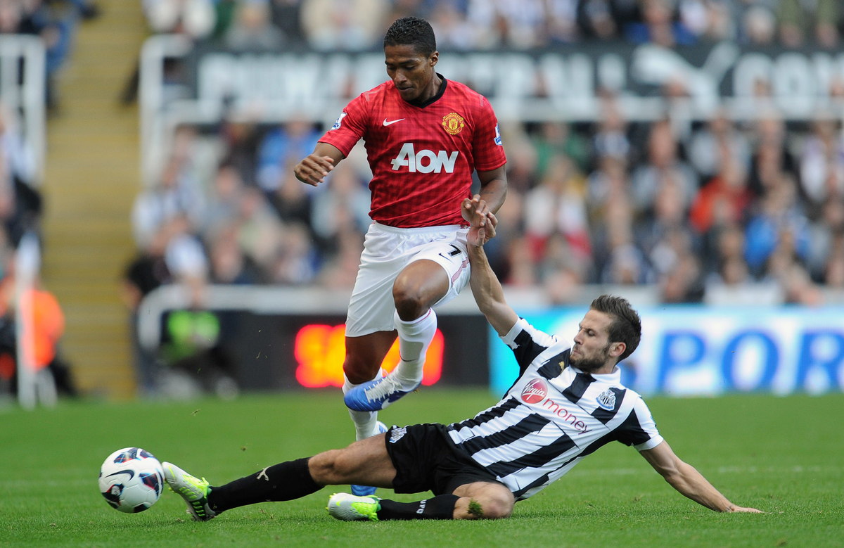 Newcastle United v Manchester United.Barclays Premier League