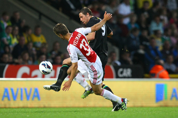 Norwich v Ajax.Friendly Veltman