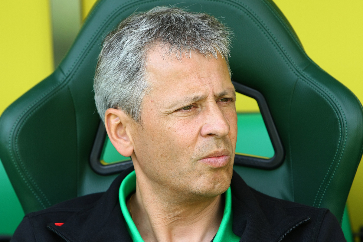 Picture by Paul Chesterton/Focus Images Ltd +44 7904 640267.11/08/2012.Borussia Monchengladbach Manager Lucien Favre before the Friendly match at Carrow Road, Norwich.