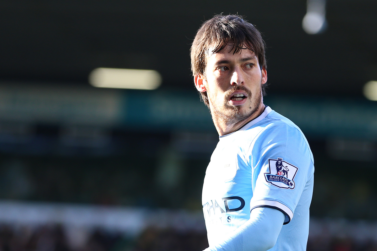 Silva Manchester City Focus