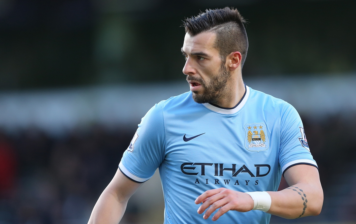 Negredo Manchester City Focus