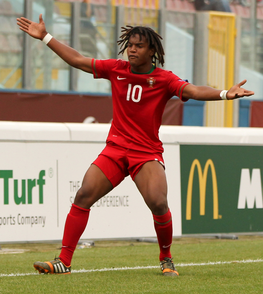 Renato Sanches Portugal sub-17 Europeo Focus