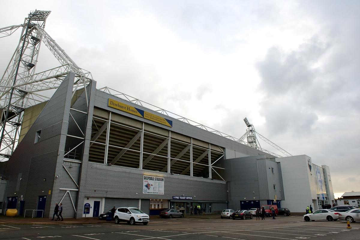 General view of the exterior of the stadium pictured ahead of the Sky Bet League 1 match at Deepdale, Preston Picture by Ian Wadkins/Focus Images Ltd +44 7877 568959 13/12/2014