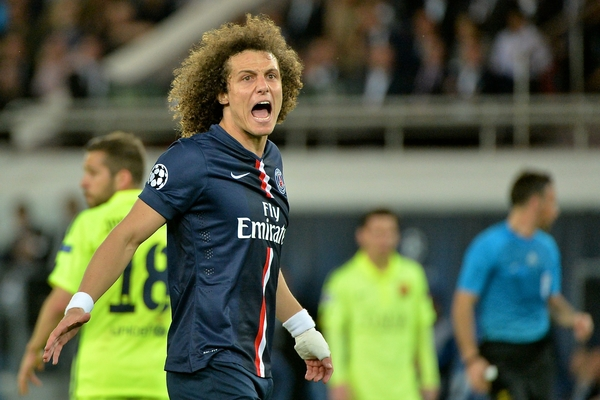 David Luiz PSG - Focus