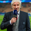 Ex German International Rudi Voller before the match Paris Saint-Germain versus Bayer Leverkusen. UEFA Champions League match at Parc des Princes, Paris Picture by Andrew McLean Brown/Focus Images Ltd +44 20 3713 3299 12/03/2014