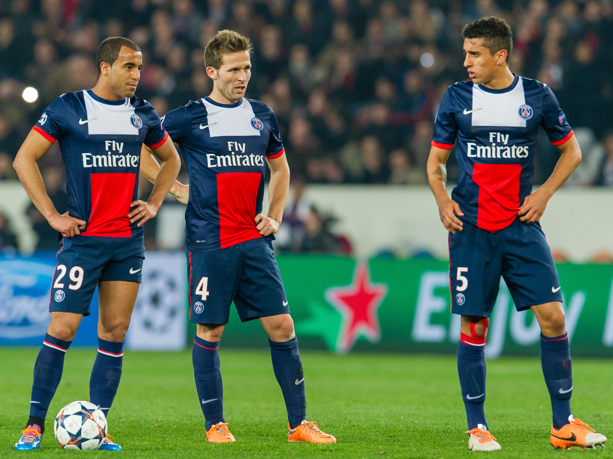Paris Saint-Germain v Bayer Leverkusen UEFA Champions League