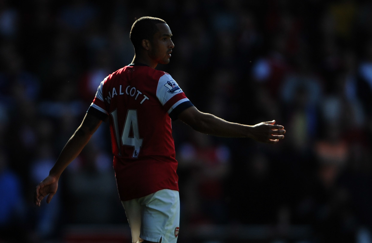 Walcott Arsenal Focus