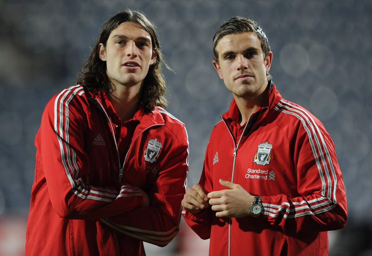 Liverpool Andy Carroll Henderson Focus
